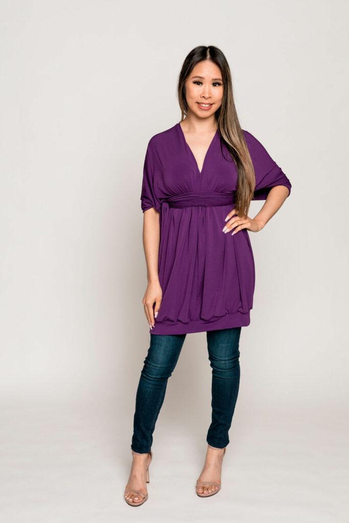 Royal Purple Sleeves