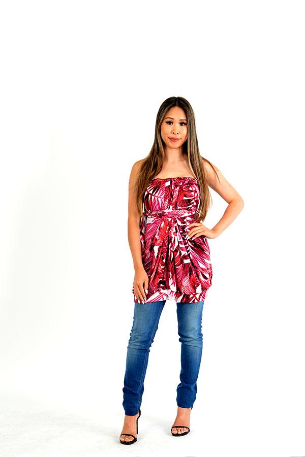 Exotic Convertible Wrap Dress
