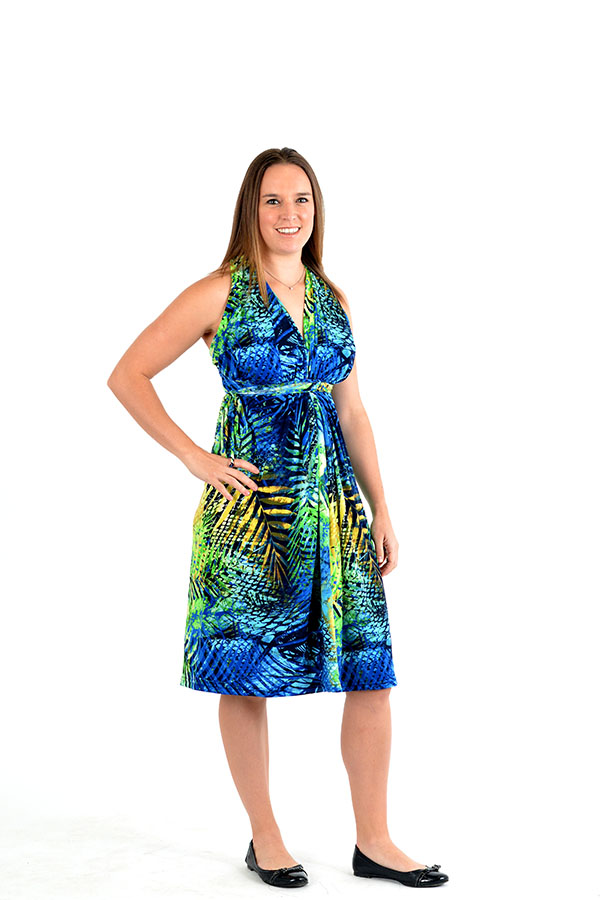 paradise convertible wrap dress