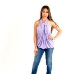 wisteria infinity dress