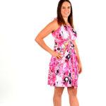 bubble gum infinity dress