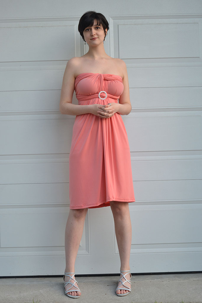 Love U Designs - Convertible Dress - Coral