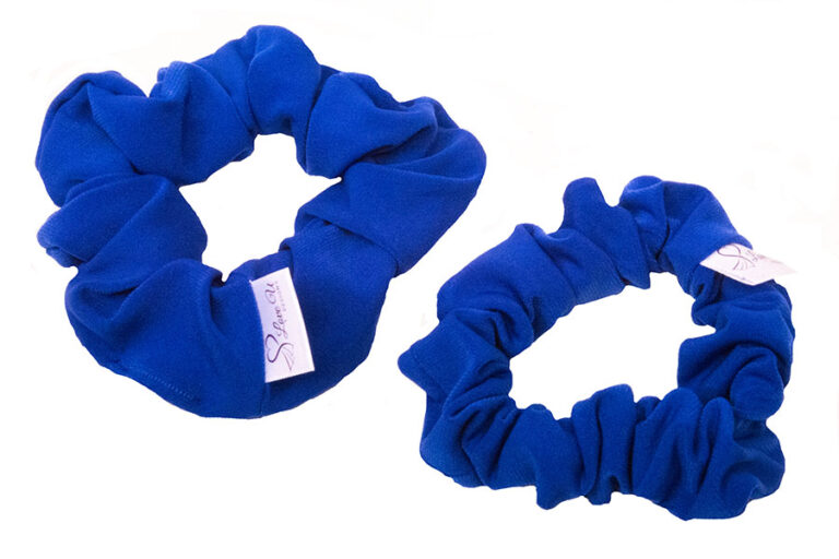 sapphire scrunchies