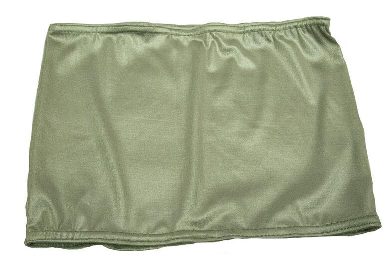 shimmer green tube tops