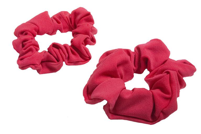 lipstick scrunchies