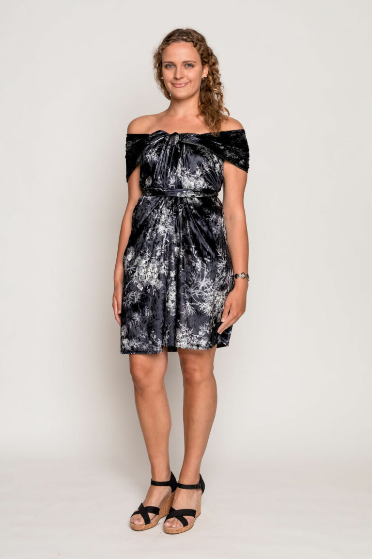 Elegance wrap dress