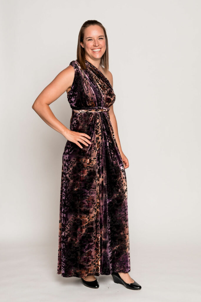 Fierce One Shoulder Wrap Dress